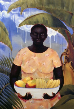 Fruitful, acrylic on canvas, 48x36, 2004, $4200 - breda