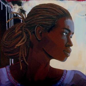 Revolution, acrylic on canvas, 24x24, 2009, $3500 - breda