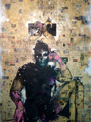 10. Vanity, acrylic:mixed media on canvas, 72x54, 2012, $15,000