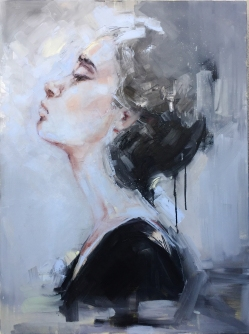 10. In Anticipation of You, oil on canvas, 30x40, 2015 - Edyta Pachowicz