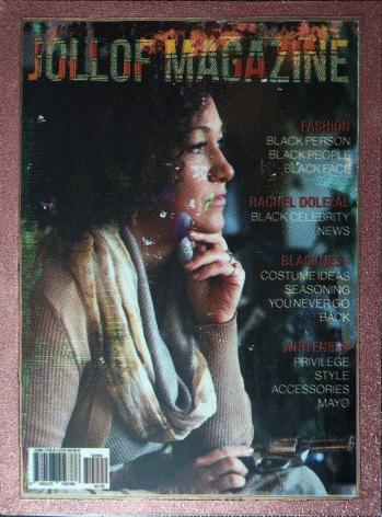 Jollof Magazine WhYte Tears Issue