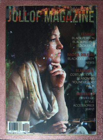 Jollof Magazine WhYte Tears Issue